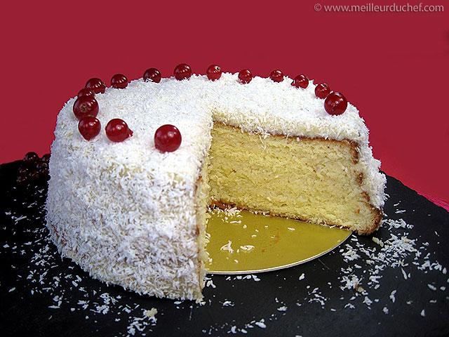 Gâteau au coco  fiche recette illustrée  meilleurduchef.com