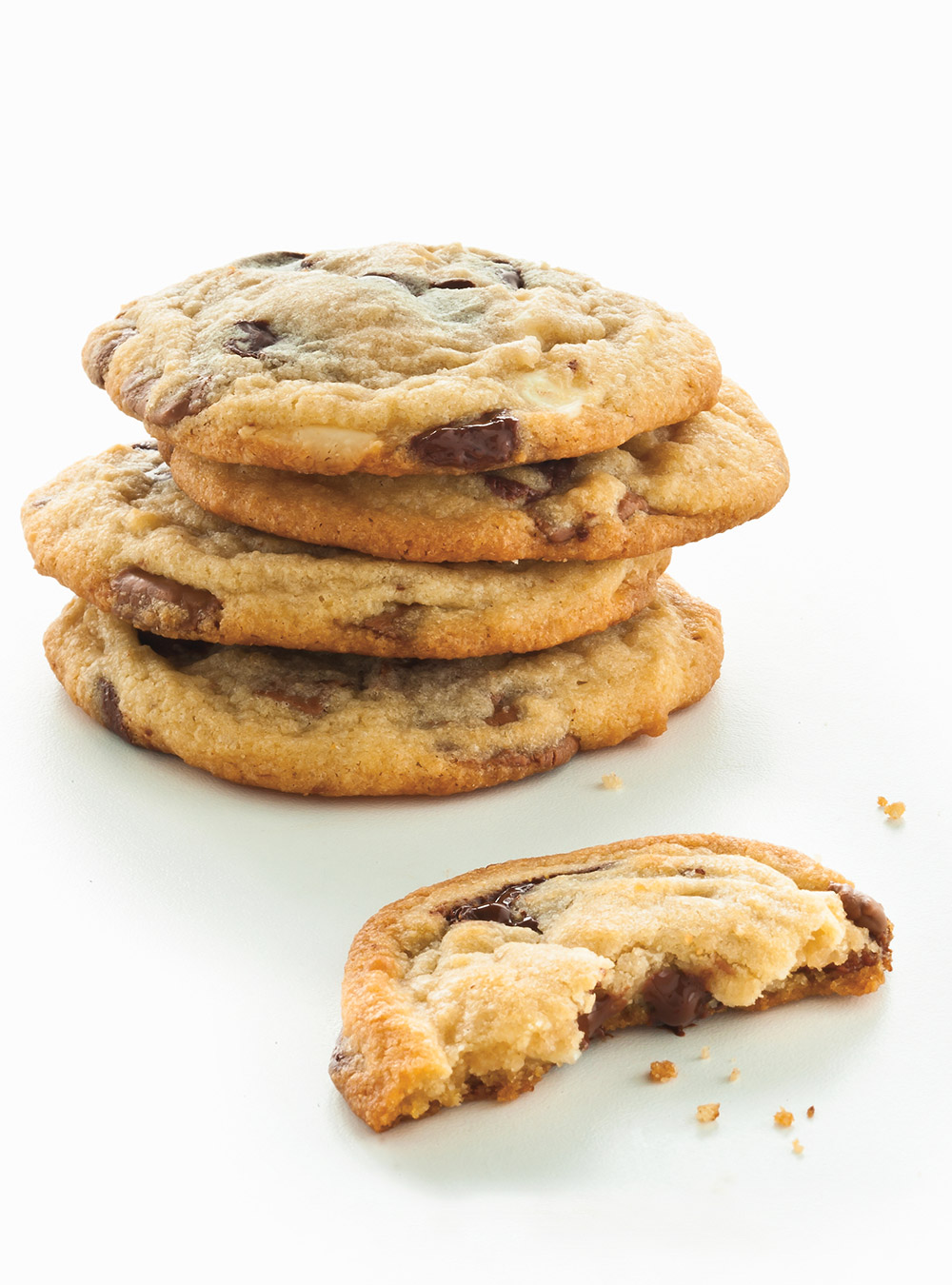 Biscuits tendres aux trois chocolats | ricardo