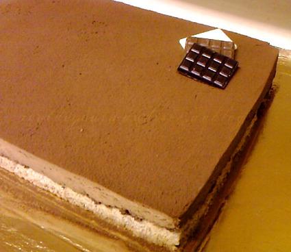 Recette de craquant au chocolat mousseux