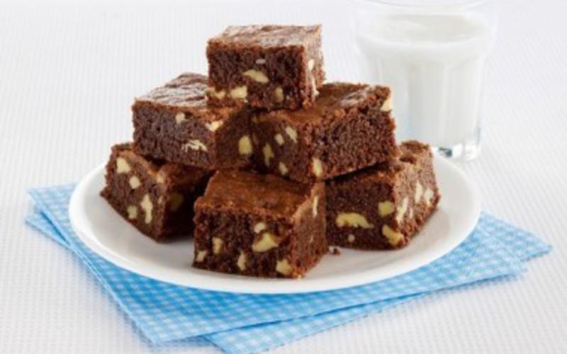 Recette brownie choco & noix pas chère et rapide > cuisine étudiant