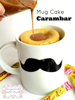 Recette de mug cake carambar