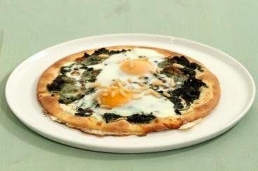 Recette de pizza florentine rapide