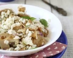Recette risotto aux champignons facile