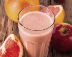 Recette milkshake pomme-pamplemousse