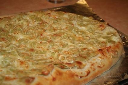 Recette de pizza aux ravioles
