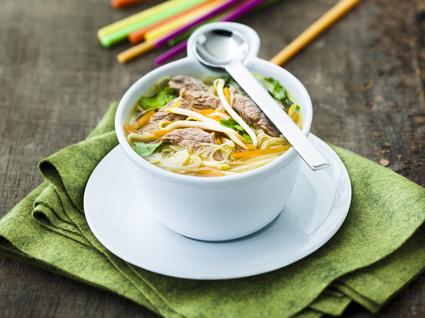 Recette de soupe chinoise à l'agneau