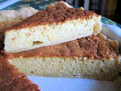 Recette de tarte amandes, sucre et citron