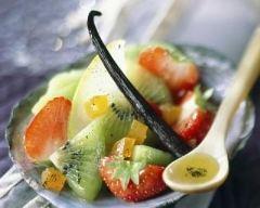 Recette salade de fruits à l'huile d'olive