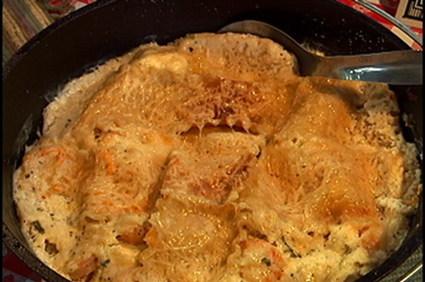 Recette omelettes roulées aux épinards