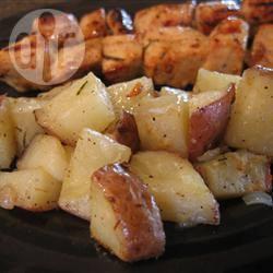 Recette pommes de terre au four au romarin – toutes les recettes ...
