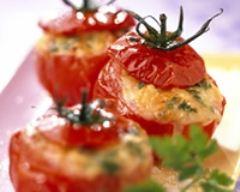 Recette tomates farcies au chèvre frais