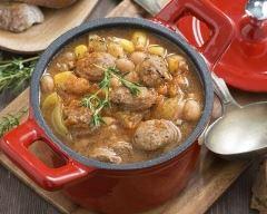 Recette rougail de saucisses aux pommes de terre