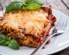 Recette lasagnes à la bolognaise au thermomix®