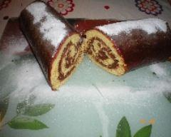 Recette gâteau roulé aux nutella