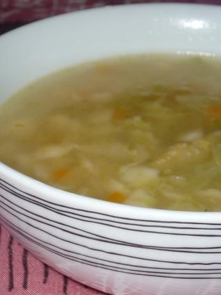 Recette de canja de galinha (bouillon de poule)