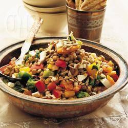 Recette salade de lentilles orientale – toutes les recettes allrecipes