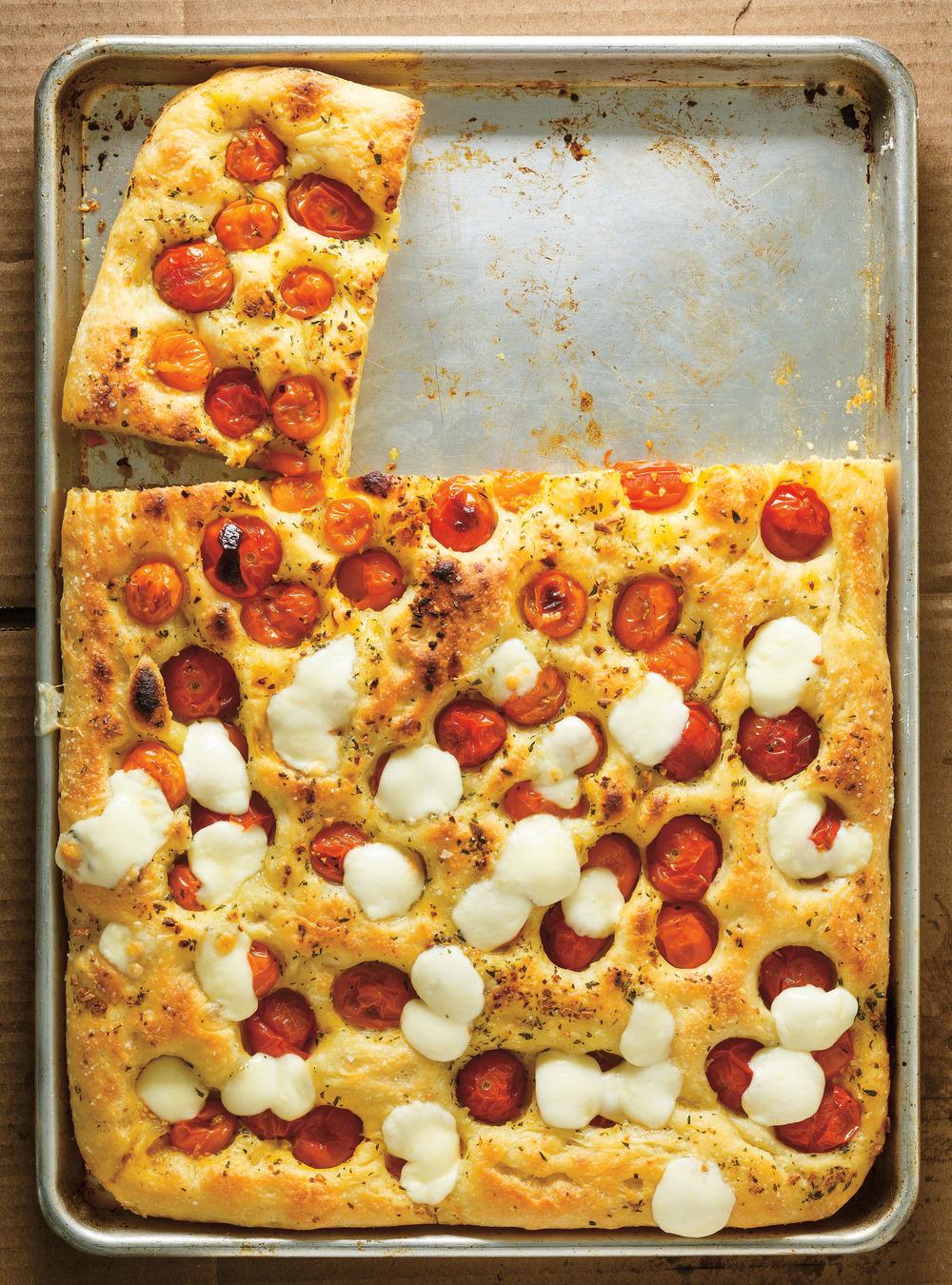 Focaccia aux tomates cerises | ricardo