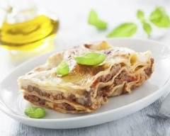 Recette lasagnes au boeuf à l'italienne