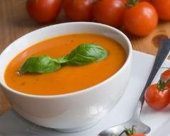 Recette soupe à la tomate rapide