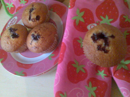 Recette de muffins à la confiture