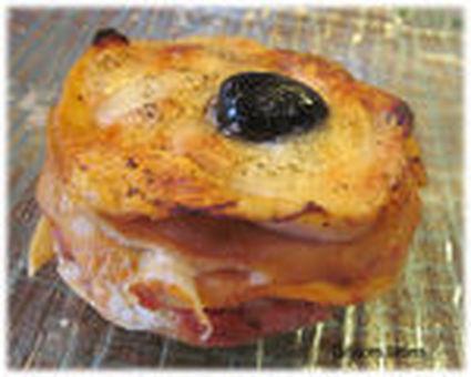 Recette de millefeuilles de crêpes tomates-mozzarella
