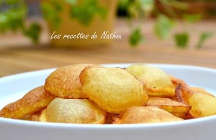 Recette de pommes de terre soufflées