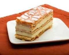 Recette mille-feuille classique à la crème pâtissière