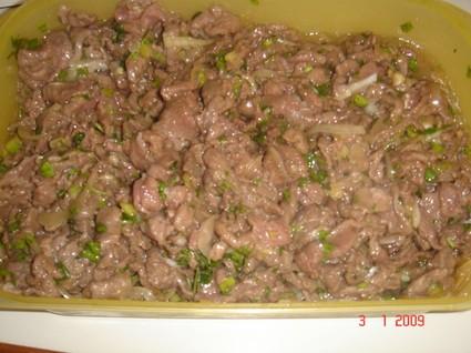 Recette de salade de cerf