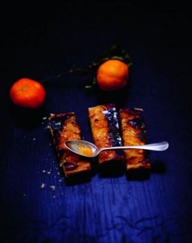Tarte amande, orange, pamplemousse et clémentine pour 6 ...