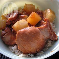 Recette cuisses de poulet au gingembre et au miel à la mijoteuse ...