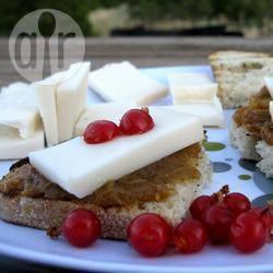 Recette tartine rhubarbe et gouda de chèvre – toutes les recettes ...