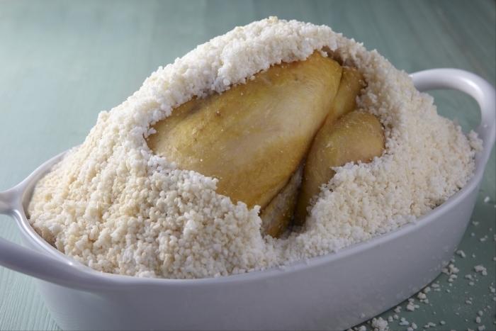 Recette de poulet en croûte de sel facile et rapide