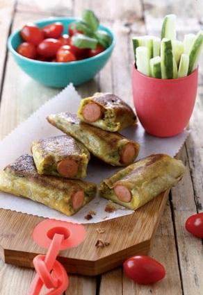Recette de croustillants de légumes aux knacki®
