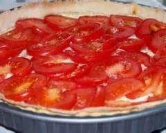 Recette tarte à la tomate et à la moutarde