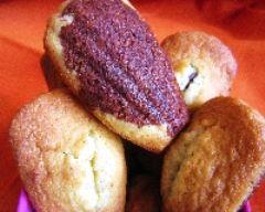 Recette madeleines marbrées