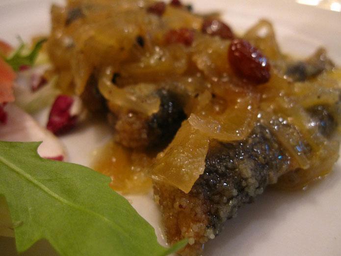 Recette des sardines à la vénitienne : sarde in saor