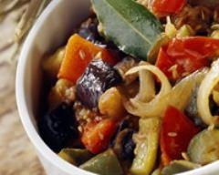 Recette salade de ratatouille froide à l'huile d'olive