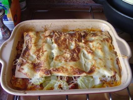 Recette de lasagnes aux courgettes