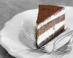 Recette gâteau mousseux aux trois chocolats