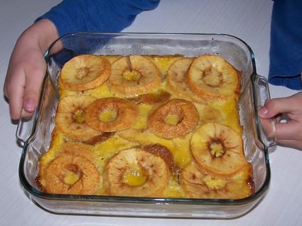 Recette de délice aux pommes et aux palets bretons