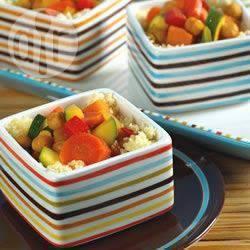 Recette couscous végétalien à la marocaine – toutes les recettes ...