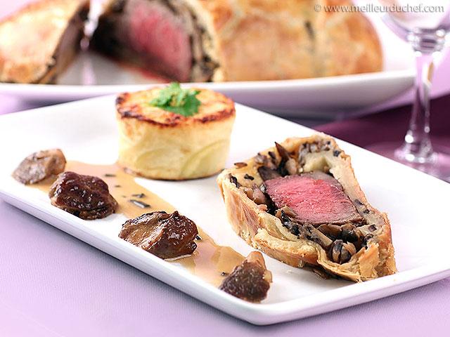 Filet de bœuf en croûte  notre recette avec photos  meilleurduchef ...
