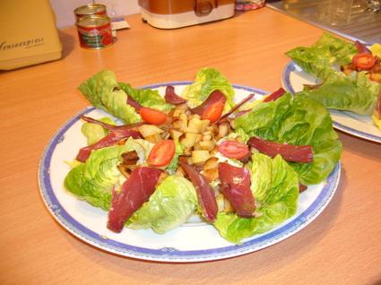 Recette de jolie salade