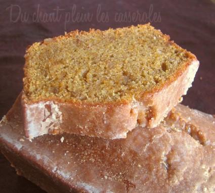 Recette de cake ultra fondant à la courge, au citron et aux épices ...