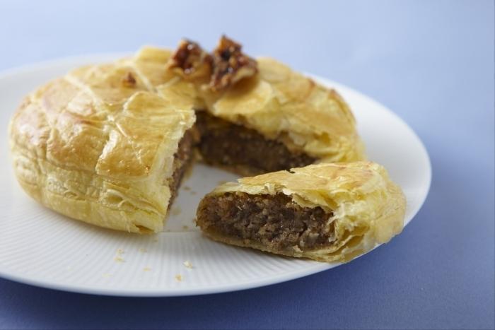 Recette de galette des rois, frangipane aux fruits secs caramélisés ...