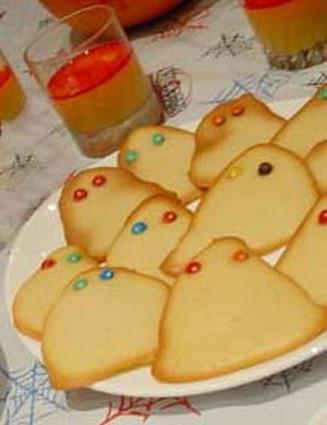 Recette de biscuits fantômes d'halloween