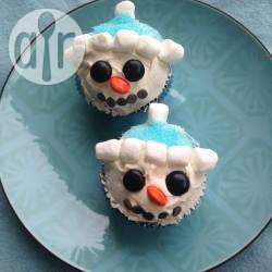 Recette décorer des muffins en bonhommes de neige – toutes les ...