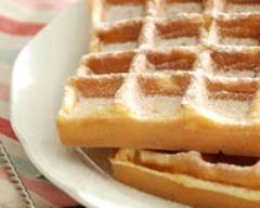 Recette gaufres à la vanille et au rhum