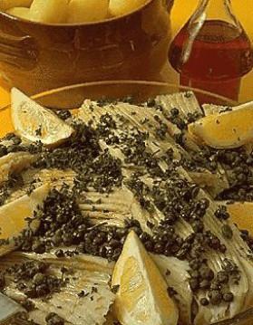 Raie au beurre noir pour 4 personnes