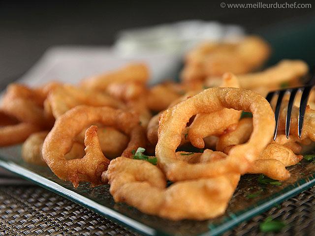 Beignets d'oignons  recette de cuisine illustrée  meilleurduchef.com